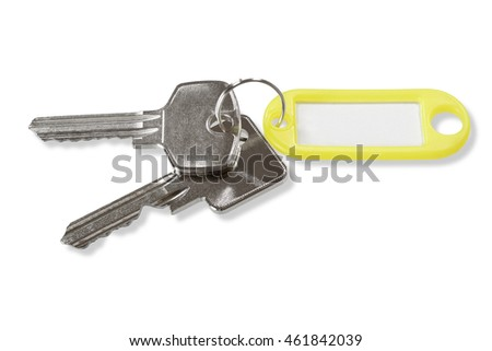 Keys with label tag