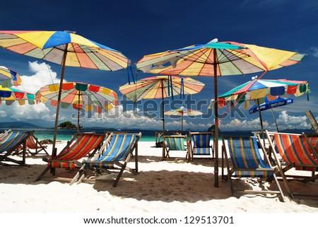 Khai nok island, Phuket, Thailand - stock photo