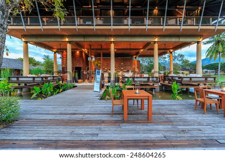 KHAO YAI, THAILAND - DEC 27: Kirimaya Hotel  on Dec 27, 2014 in Khao Yai, Thailand. It's a luxury resort hotel and spa, with pristine 18-hole golf course designed by Jack Nicklaus.