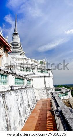 Khaowang Pagoda - stock photo