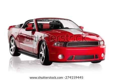 KHERSON, UKRAINE - APRIL 24, 2013: Car, Sports Car, Muscle Car. - stock photo