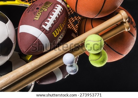 KHERSON, UKRAINE - NOVEMBER 27, 2014: Sports Equipment, Sport, Equipment.