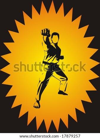 Kickboxing - stock photo