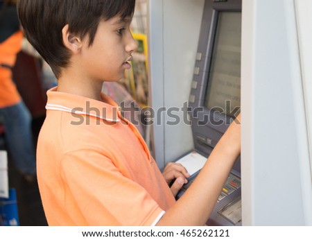 Kid buying on the street