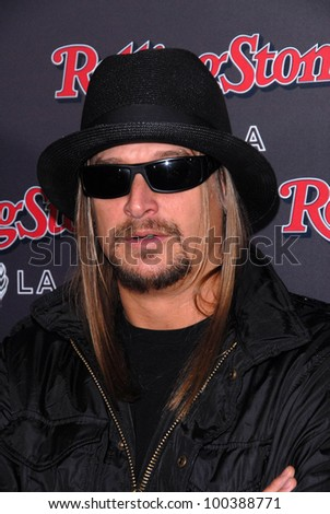 Kid Rock at the Rolling Stone American Music Awards VIP After-Party, Rolling Stone Restaurant & Lounge, Hollywood, CA. 11-21-10