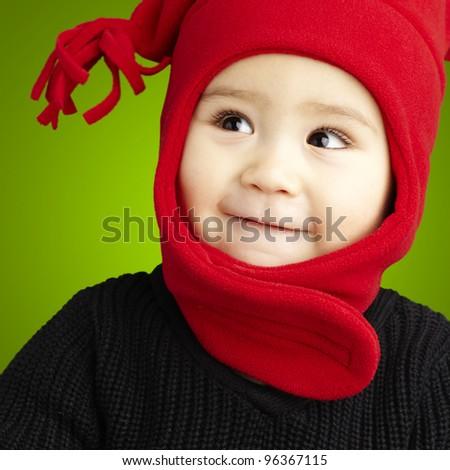 kid smiling - stock photo