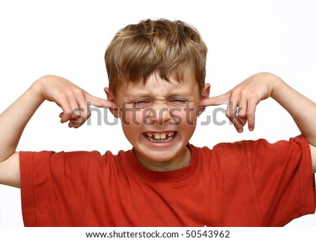Kid suffers from noise