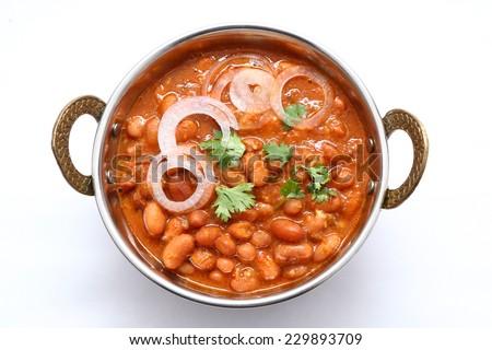 Kidney bean dish - stock photo
