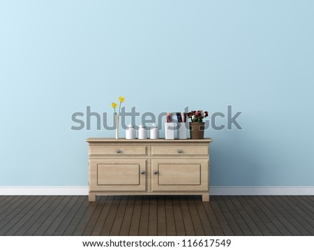 kids room - stock photo