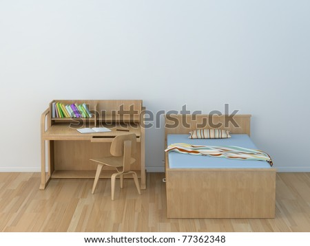 kids room - stock photo