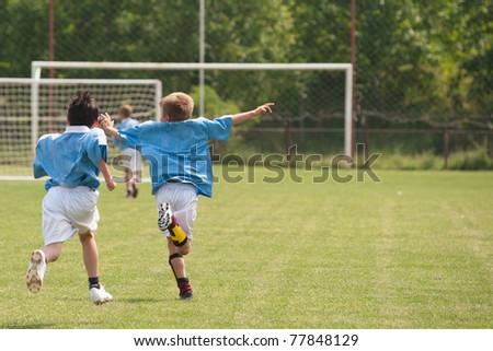 Kids' Soccer - stock photo