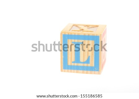 Kids Wooden Blocks Spelling The End As Symbol for Conclusion And Closing - stock photo