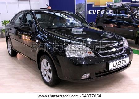 "KIEV - MAY 27: Annual automotive-show ""SIA 2010"". May 27, 2010 in Kiev, Ukraine. Chevrolet Lacetti - stock photo"