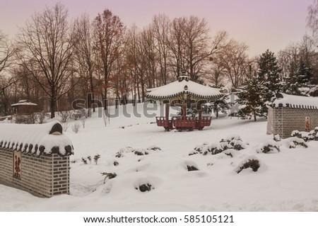 garden pavilion stock images, royalty-free images & vectors