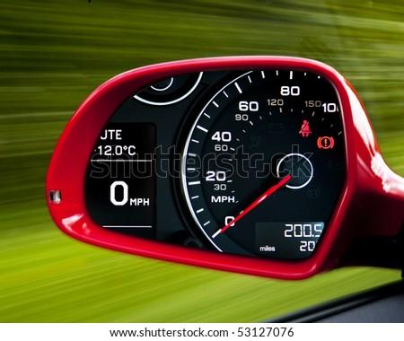 Kill your speed - stock photo