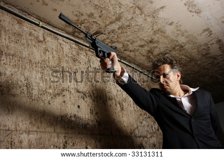 killer - stock photo