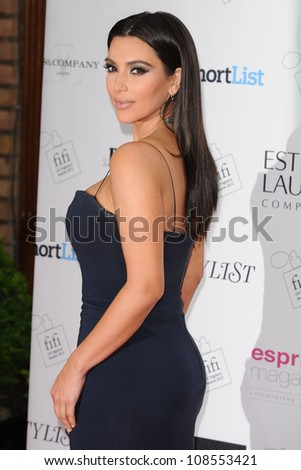 Kim Kardashian arriving for the Fifi fragrance Awards 2012 at the Brewery, London. 17/05/2012 Picture by: Steve Vas / Featureflash - stock photo