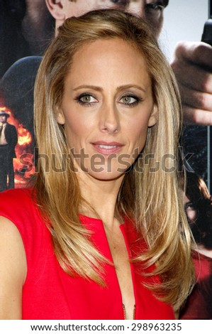 Kim Raver at the Los Angeles premiere of 'Gangster Squad' held at the Grauman's Chinese Theatre in Hollywood on January 7, 2013.   - stock photo