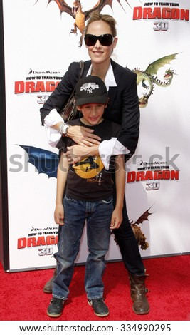 "Kim Raver at the Los Angeles Premiere of ""How To Train Your Dragon"" held at the Gibson Amphitheater in Universal Studios, California, United States on March 21, 2010."