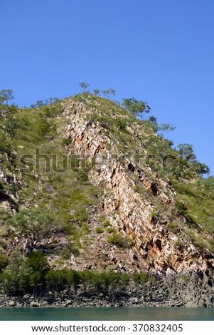 Kimberley Coast, Western Australia - stock photo