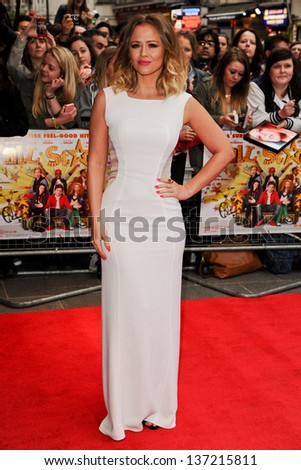 Kimberley Walsh arriving for the All Stars 3D Premiere, Vue West End, London. 22/04/2013