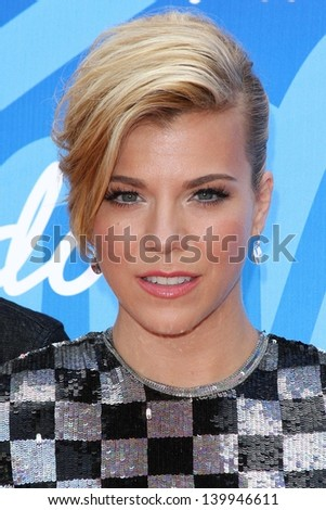 Kimberly Perry at the American Idol Season 12 Finale Arrivals, Nokia Theater, Los Angeles, CA 05-16-13