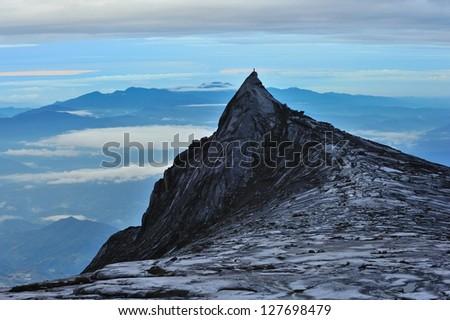 kinabalu mountain - stock photo