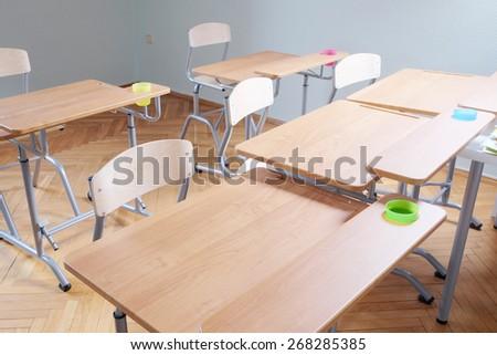 Kindergarten classroom Interior - stock photo