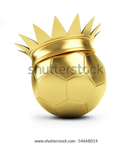 King Football - stock photo