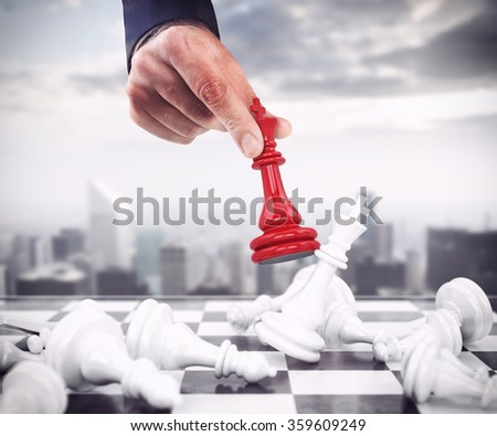 King of chess - stock photo