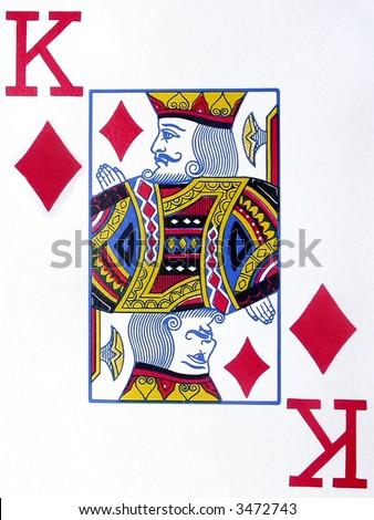 King of Diamonds - stock photo
