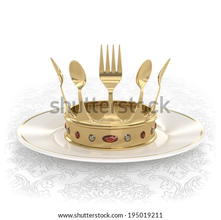 King of the kitchen - stock photo