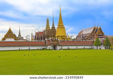 King palace Thailand - stock photo