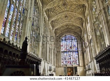 King's college chapel, Cambridge - stock photo