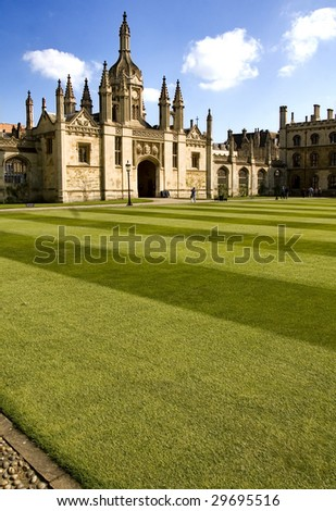 King's College, University of Cambridge, England