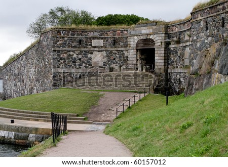 King's Gate at Suomenlinna, Finland - an Unesco World Heritage Site