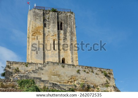 King's Tower in St. Emilion