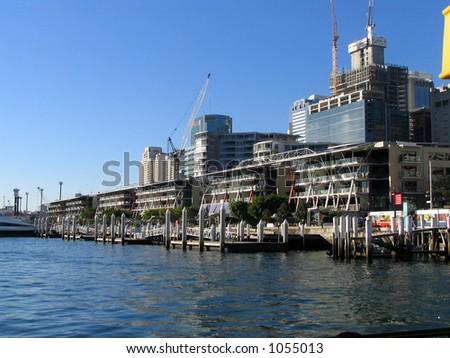 King St Wharf - stock photo