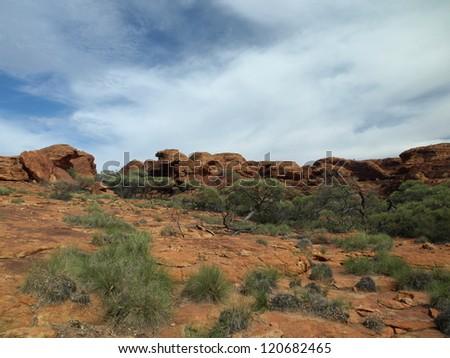 Kings Canyon National Park, Australia - stock photo