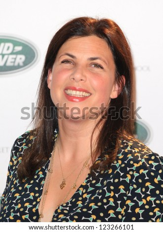 Kirstie Allsopp arriving for the all new Range Rover unveiling, London. 06/09/2012 Picture by: Henry Harris