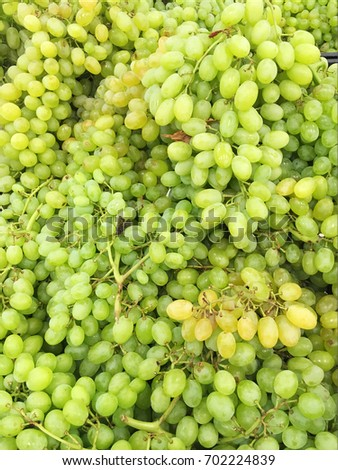 Green grape texture
