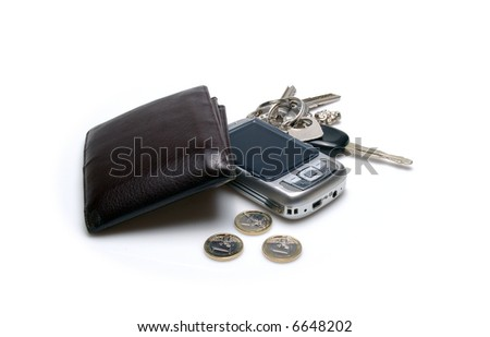 Kit businessman - stock photo