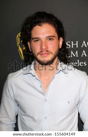 Kit Harrington at the BAFTA Los Angeles TV Tea 2013, SLS Hotel, Beverly Hills, CA 09-21-13 - stock photo