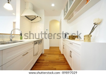 Kitchen-4-1 - stock photo