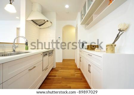 Kitchen-4-1 - stock photo