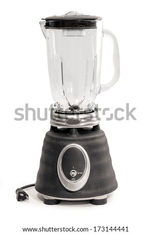 Kitchen Blender Isolated on a White Background - stock photo