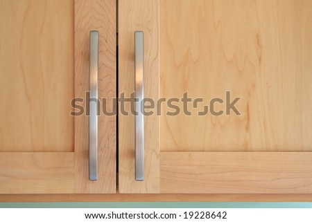 Kitchen Cabinet Doors - stock photo