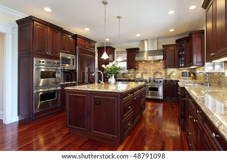 Kitchen Cabinets Stock Photos, Kitchen Cabinets Stock Photography