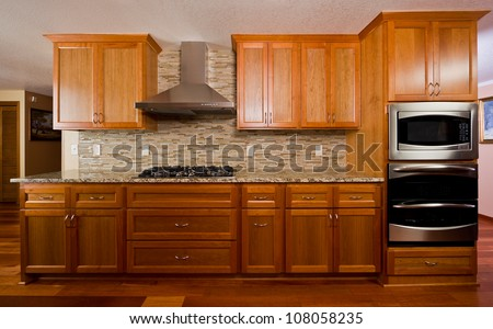 Kitchen interior.