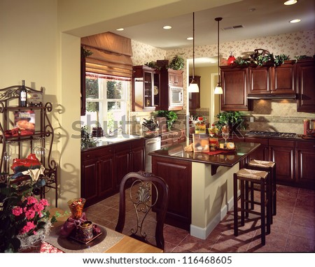 Kitchen, Interior Design, Architecture, Stock Images,Photos of Living room, Bathroom,Bed room, Office, Interior photography. - stock photo